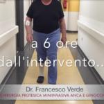 Francesco-verde-protesi-monocompartimentale-ginocchio-revisione-protesi-anca-post-operatorio