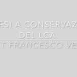 protesi-conservazione-LCA-francesco-verde